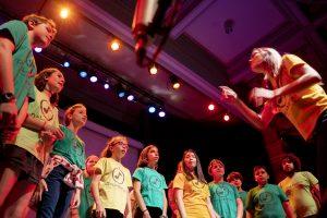 Actuación coro DaLaNota