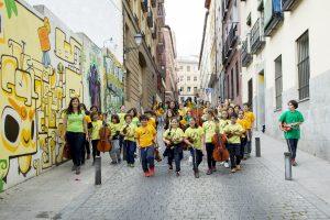 orquesta DaLaNota en Lavapiés