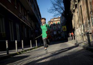 Corriendo en DaLaNota verde